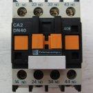Telemecanique CA2DN40G6 120 VAC CAD2-DN40G6 4 Contact Relay 10 Amp