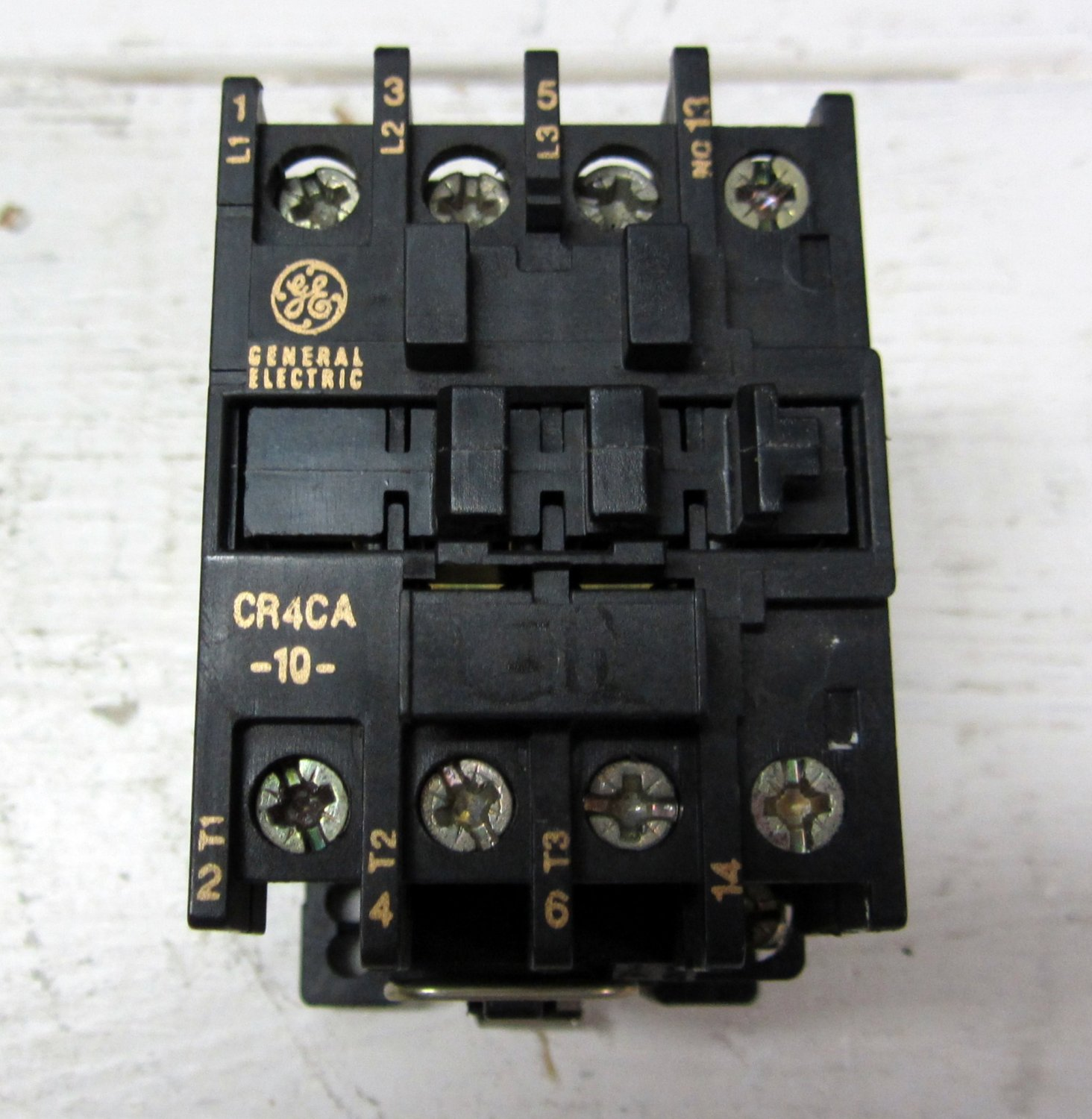 General electric cr4ca 10 cr4ca motor starter contactor for General electric motor starters
