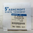 Ashcroft 50-EI-60E-040 5 Inch Bimetal Thermometer - 20 / 120 Degrees F 50EI60E040 new