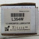 Arrow Pneumatics L354W 1/2 Inch Arrowfog Air Line Lubricator new