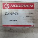 Norgren L72C-2AP-QTN 1/4 Inch Air Oil Fog Air Line Lubricator Pneumatic 150 PSIG new