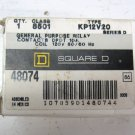 Square D 8501 KP12V20 8501-KP12-V20 General Purpose Relay DPDT 10 amp 120 VAC new