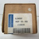 Wilkerson MSP-95-992 Pneumatic Filter Replacement Element Air MSP95992 new