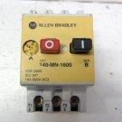 Allen Bradley 140-MN-1600 Manual Motor Starter 10 - 16 amp Overload 3 Pole 690 V 140MN1600