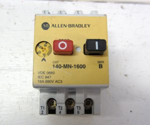Allen Bradley 140 Mn 1600 Manual Motor Starter 10 16 Amp