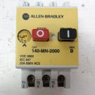 Allen Bradley 140-MN-2000 Manual Motor Starter 16 - 20 amp Overload 3 Pole 690 V 140MN2000