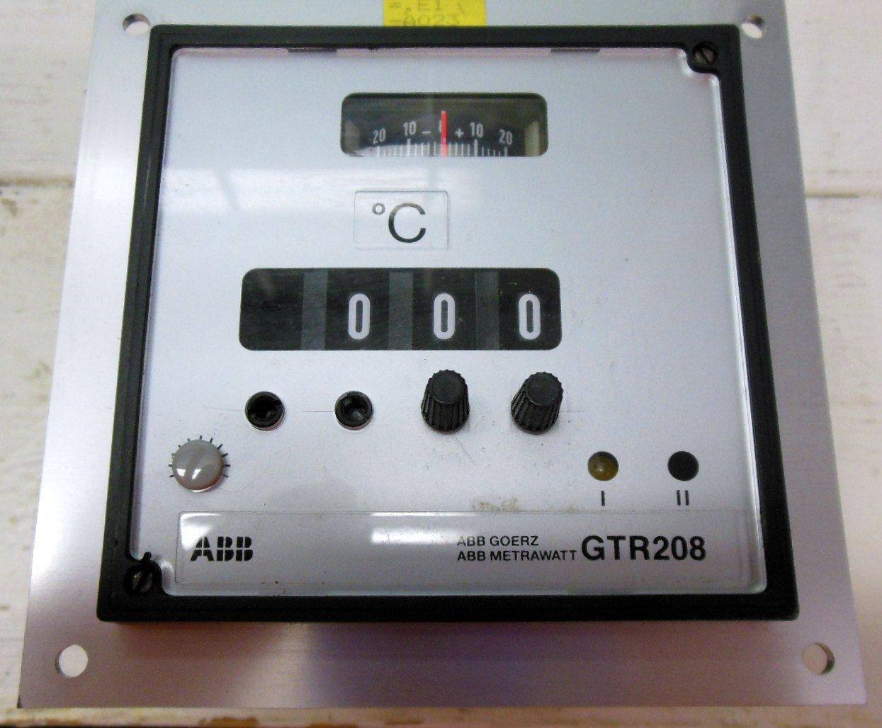 Abb metrawatt gtr208 temperature controller 0 200 degree for Abb motor starter selection tool