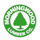 Morningwood Lumber Company Funny Vinyl Decal