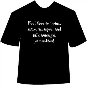 Funny Feel Free to Point T-shirt