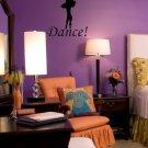 Ballet Dance Wall Art Vinyl Decal