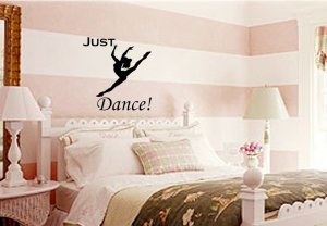 Just Dance Wall Art Vinyl Decal