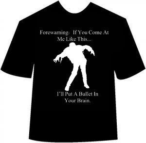 Funny Zombie Walk T-shirt