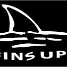 Fins Up Shark Jimmy Buffett Car Vinyl Decal