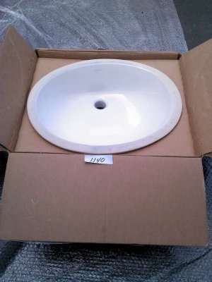 "Kohler Caxton 17"" Basin Undermount Bathroom Sink K-2210"