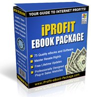IProfit Ebook Package-75 Ebooks to use and resell