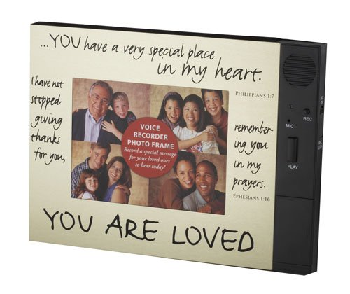 You Are Loved Frame - Record a Message