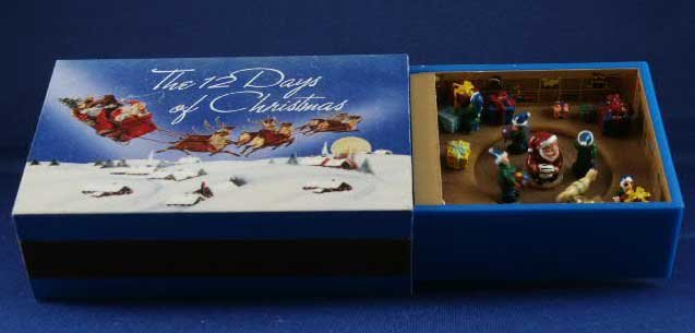 Matchbox Melodies Music Boxes 12 Days of Christmas