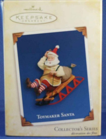 Toymaker Santa 6th in Series