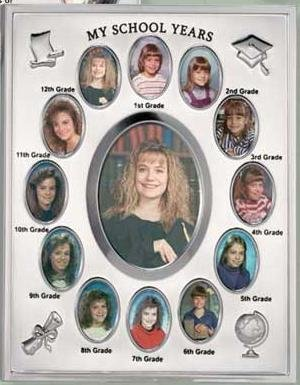 My School Years Silver Plated Years