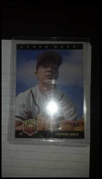 Chipper Jones Rookie Card. Cheap Price