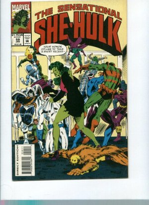 Sensational She Hulk (1989) Issue# 59 FN Marvel Comics