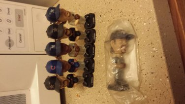 Lot of Collectible Baseball Player Bobbleheads
