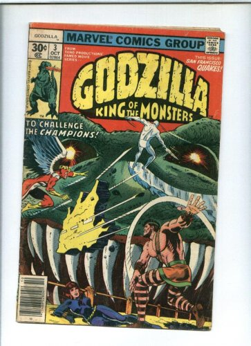 Godzilla Comic Issue #3