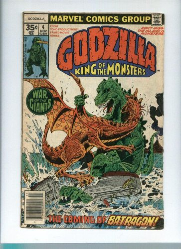 Godzilla Comic Issue #4