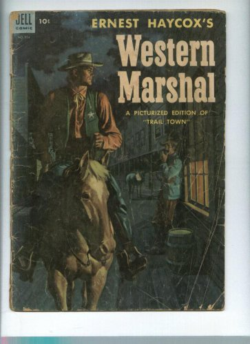 Western Marshal comic 534 10c cover price