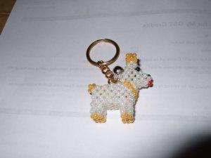 Little Doggie - White & Yellow