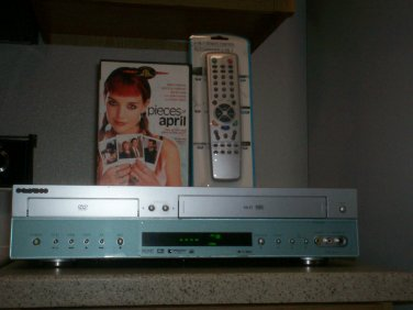 $0 USA Shipping With Go Video DVR4300 HIFI Combo Player W/Remote/Tuner & 1 Movie