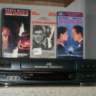 $0 USA Shipping With JVC HR-6334 4Head HIFI VCR Player W/ Menu Button & 3 Movies