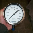 $0 USA Shipping With Ashcroft 45-1009-S-02L-1000 4 1/2' 1000 PSI Service Gauge