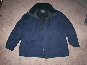 $0 Shipping With Pacific Trail Blue Jacket with Hood Unisex Size X-Large/Grande