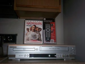 Refurbished Sylvania SRD3900 HIFI VCR/DVD Player W/ith 4 - 1 Remote & 1 Movie