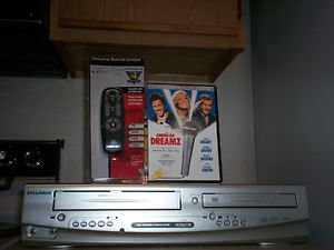 Refurbished Sylvania DVC840E HIFI Combo Player With 4 - 1 Remote & 1 Movies