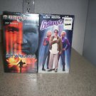 $0 Shipping With Brand New Sealed Star Man Columbia Pics & Galaxy Quest VHS Tapes