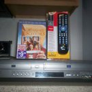 Refurbished Samsung DVD-V3650 VCR/DVD Combo Player W/ 4-1 Remote & 1 Movie