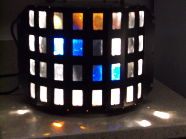 $0-Shipping W/ American DJ Razz Matazz Rotating With 32 Mulitcolored & 64 beams