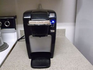 Keurig K15 Single Serve Compact K-Cup Pod Black Coffee Maker Wihtout Drip Tray