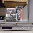 Refurbished Sylvania SRD2900 HIFI VCR/DVD Player With 4 - 1 Remote & 1 DVD Movie
