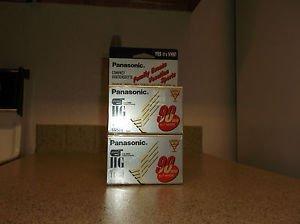 $0 Ship W/Panasonic HG TC-30 VHS-C Digital Camcorder 30 SP / 90 SLP Minutes Tapes