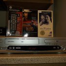 $0-Ship W/Refurbished Trutech DV4TS05 VCR/DVD HiFi Player W/4-1 Remote & 2 Movie