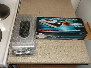 $0-Ship W/Brand New Kinyo UV-520 VHS 1-Way Rewinder & Manu. 1 Year Warranty Card