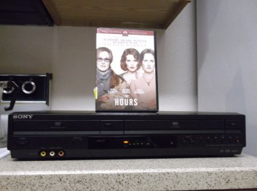 $0-Ship W/Refurbished Sony SLV-D281P VCR/DVD Player W/ Progressive & 1 DVD Movie