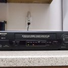 Refurbished Sharp VC-H800  4 19U Head VCR With S-VHS + Menu Button & S. Picture
