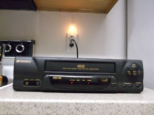 Refurbished Sansui VCR4810D 4 Head VHS VCR With Quick Start Loading & VHS-HQ