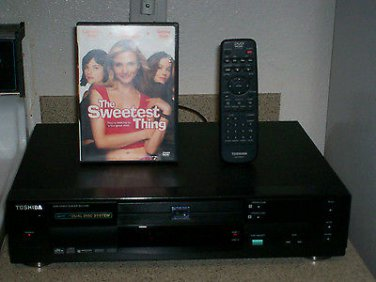 Refurbished Toshiba SD-3109U DVD Player With 1 DVD Movie & OEM Remote Control