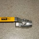 $0 Shipping W/ New Parker 3/4 Inch 2000WOG CFSM LB Ball Valve 1/4 Turn Shut Off