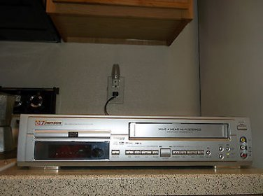 $0-Ship W/ Refurbished Emerson EWD2202 Digital Progressive VCR/DVD Combo Player